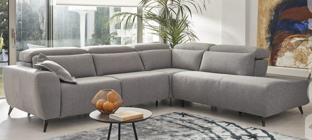 Canapé d'angle en tissu - Acomodel