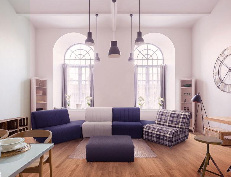 Modularité au salon : Puzzle, le canapé-chauffeuse qui s'adapte à toutes vos envies !