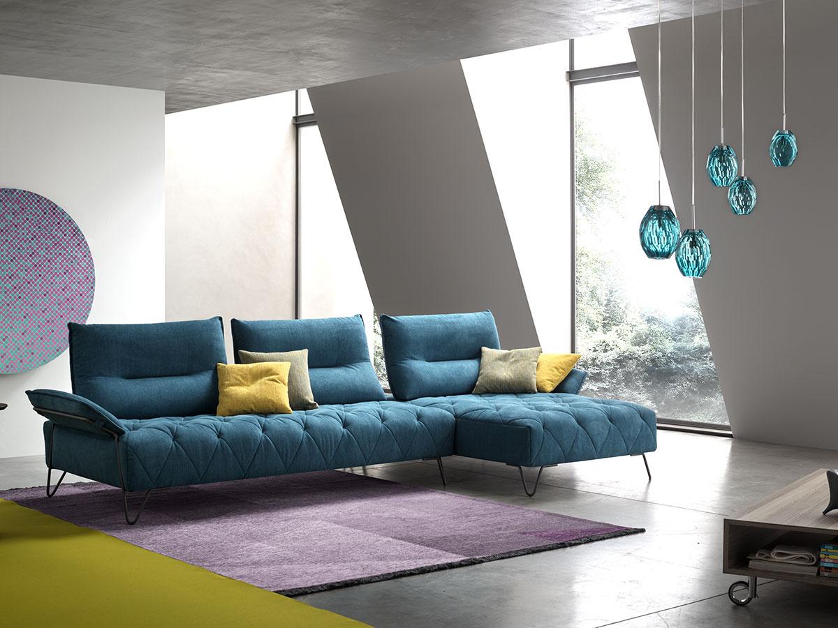 Tendance canapés : de la couleur pour personnaliser votre salon - Le blog de Gallery Tendances