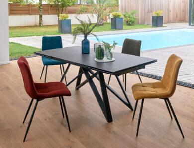 Des chaises de salle à manger design et confortables, c'est possible !