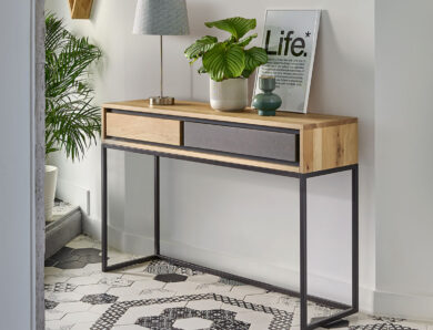La console : le meuble tendance pour une entrée accueillante